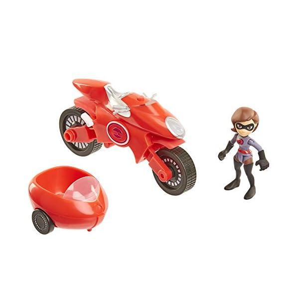 417q5QJ5maL The Incredibles 2 Elasticycle & Elastigirl Vehicle Playset Action Figure
