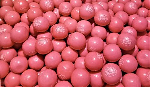 Dubble Bubble Pink Gumballs - 1 Pound Bulk Pack ()