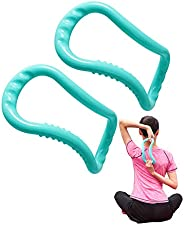 Yoga Ring Pilates Circle Stretch Resistance Execise Support Massage for Neck, Back, Leg, Calf, Strengthen Ches