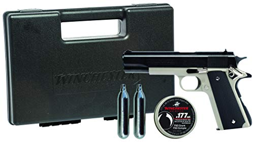 Winchester Model 11K Semi Auto Pistol Air Gun Kit (Best Co2 Pistol On The Market)
