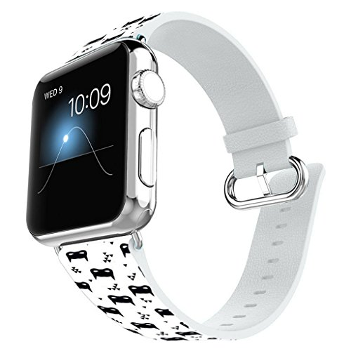 Apple Leather Stainless Connector iWatch product image