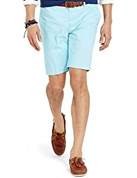 Polo Ralph Lauren Classic Fit Flat Front Newport Chino Shorts Hammond Blue