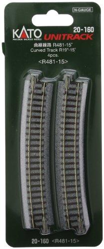 (Kato USA Model Train Products Unitrack, 481mm (19