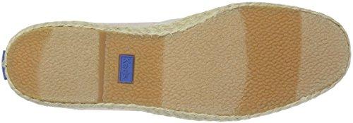 Espadrilles Chillax Gold Women's A Keds Linen Line Metallic Rose wSU4fqYxg