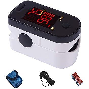 Amazon Com Innovo Premium Fingertip Pulse Oximeter Blood