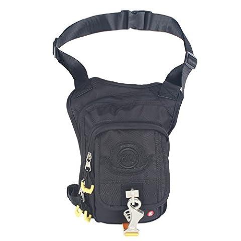 Innturt Tactical Gun Holster Bag Leg Bag Fanny Pack Waist Pack Pouch (Multifunzionale Del Mens Cinturino)