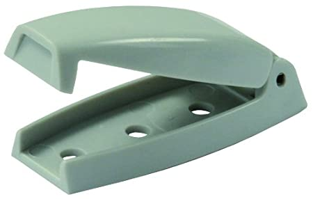 JR Products 10234 Baggage Door Catch Pack of 2 White