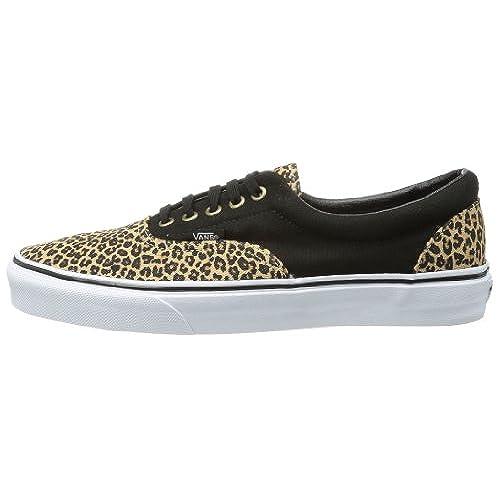 b957429fec best Vans Mens Era (2 Tone) Skateboarding Shoes Herringbone Leopard ...