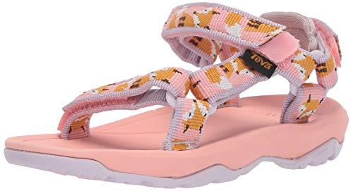 Teva Girls' T Hurricane XLT 2 Sport Sandal, Fox Orchid Pink, 7 Medium US Toddler