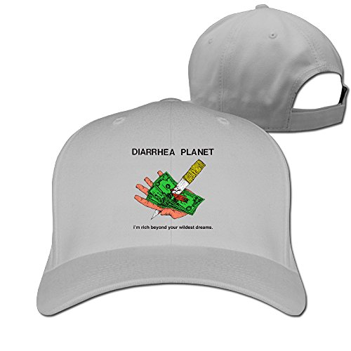 unisex-diarrhea-planet-im-rich-beyond-your-dreams-plain-baseball-cap-blank-hat-solid-color