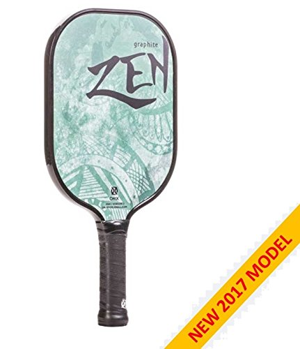 2017 Onix Graphite Zen Pickleball Paddle v2 Green by Escalade Sports