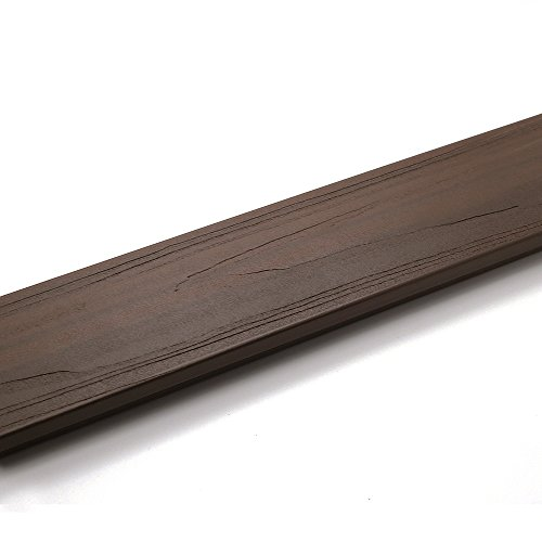 NewTechWood DAF-Boards-WN Deck-A-Floor Boards, 2-Inch x 1-Feet, Spanish Walnut (Composite Deck Boards compare prices)