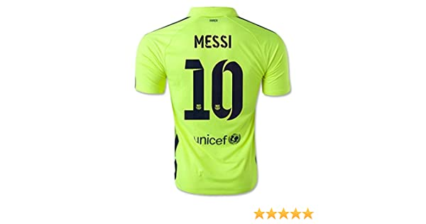 796df41d7 Amazon.com   Nike Barcelona 3rd Jersey 2014-15 Messi  10 Size Adult X-Large    Sports   Outdoors