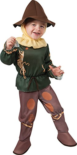 UHC Boy's Wizard of oz Scarecrow Outfit Fancy Dress Toddler Halloween Costume, Toddler (2-4T)