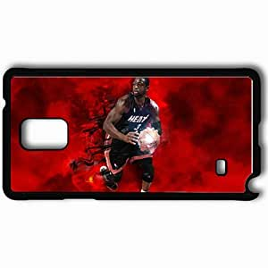 Personalized Samsung Note 4 Cell phone Case/Cover Skin 14890 heat wp 68 sm Black