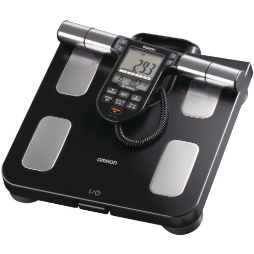 Omron Body Composition Monitor with Scale - 7 Fitness Indicators & 180-Day Memory - Measure Body Fat Composition