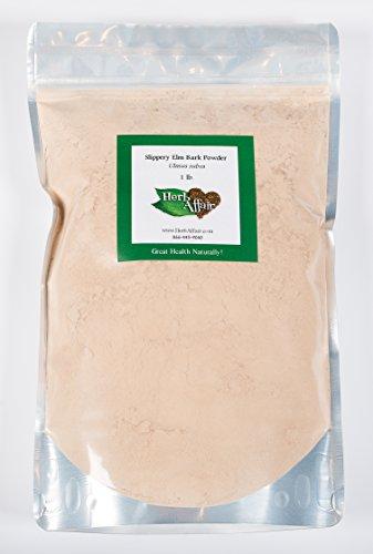Скользкий вяз внутренней коры порошок (1 фунт мешок для сыпучих продуктов)