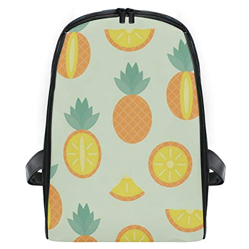 Pineapple Pattern Funny School Backpack For Girls Kids Elementary School Bag Mini Backpacks