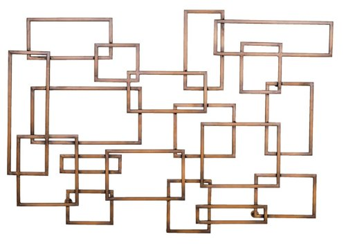 Welcome Home Accents Geometric Metal Wall ()
