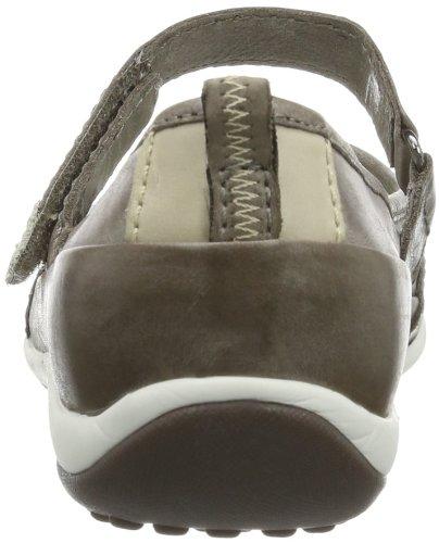 Gabor Shoes Gabor 84.320.73 - Bailarinas de cuero para mujer Gris (Grau (bison/pur))
