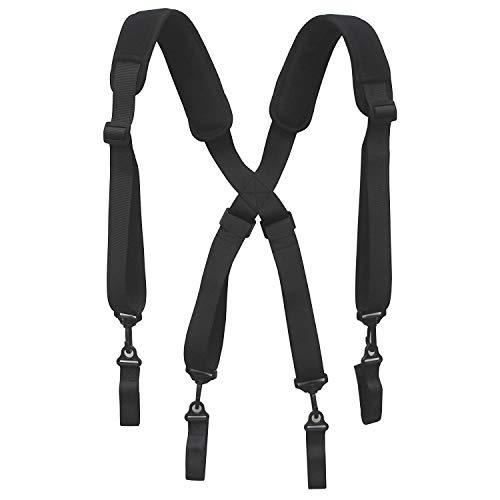 Men Paddded Adjustable Tool Belt Suspender Duty Belt Suspender Tactical Duty Belt Harness For Duty Belt by YYST