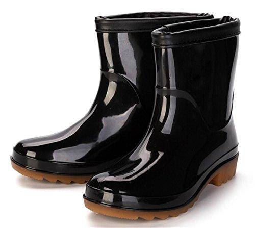 Volwassen Heren Antislip Korte Enkel Hoge Rubberen Werkschoenen Regenlaarzen