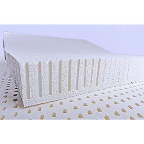 3 100 Natural Talalay Latex Firm Mattress Topper Queen