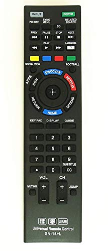 New Nettech Universal Remote Control for All Sony Brand TV, Smart TV - 1 Year Warran-ty(SN-14AL) (Sony Tv Remote Controls)