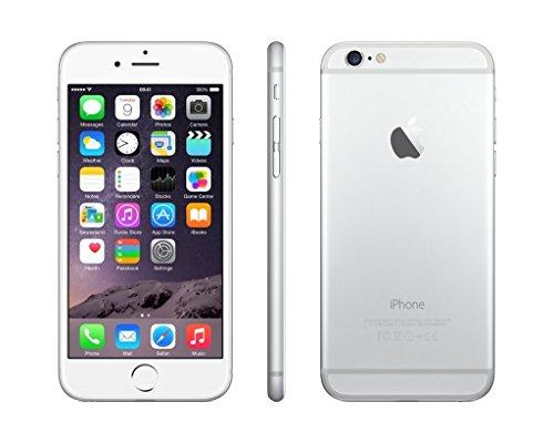 Apple iPhone 6, Virgin Mobile, 64GB - Silver - (Renewed)