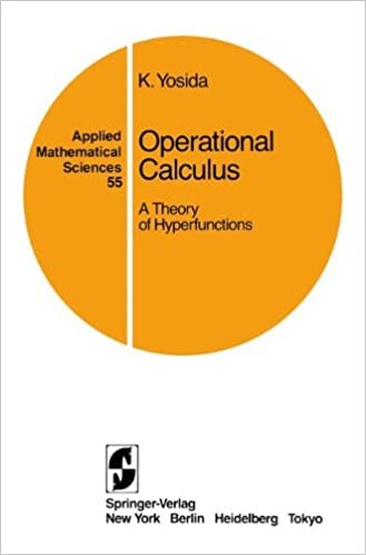 amazon operational calculus a theory of hyperfunctions applied
