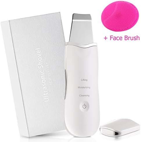 Facial Skin Scrubber, Vivawin Face Spatula Blackhead Remover Comedone Extractor Pore Cleansing Facial Lifting Tool for Face Care