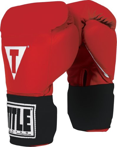 Title Masters USA Boxing Competition Gloves (Elastic)