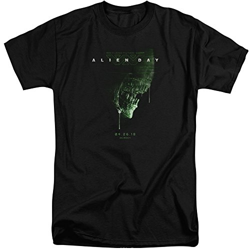 Aliens Shirt 2018 T uomo nera 0xrX0qA