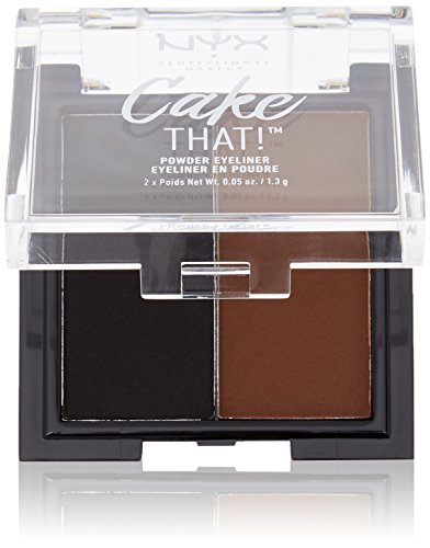 NYX PROFESSIONAL MAKEUP Cake That! Powder Eyeliner, 0.09 Ounce