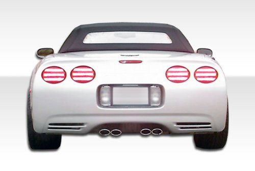 Duraflex Replacement for 1984-1996 Chevrolet Corvette C4 C5 Conversion Rear Bumper Cover - 1 Piece