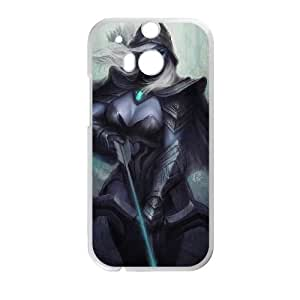 Defense Of The Ancients Dota 2 DROW RANGER 012 HTC One M8 Cell Phone Case White ASD3814807