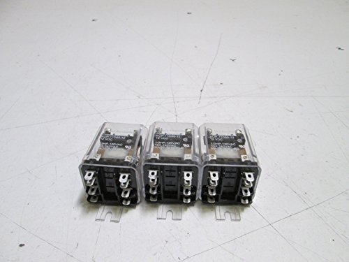 (LOT OF 3 TYCO ELECTRONICS RELAY KUP-11D55-12 12VDCUSED)