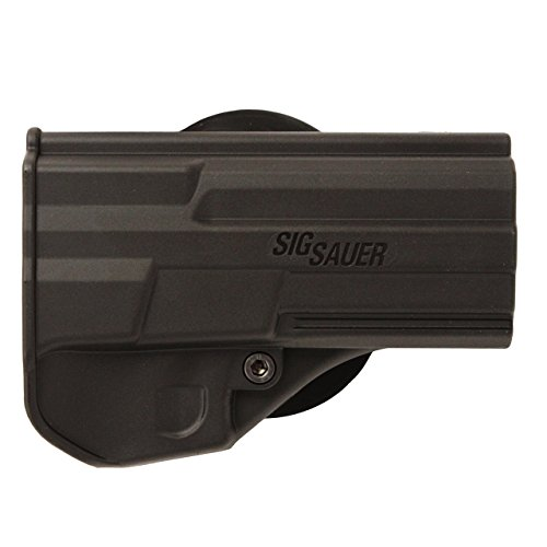 SigTac Standard 2009/2022/220/226/227/MK25 Paddle Holster, Black, Right