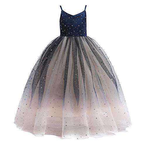 Little Big Girls Party Gown Princess Lace Dress