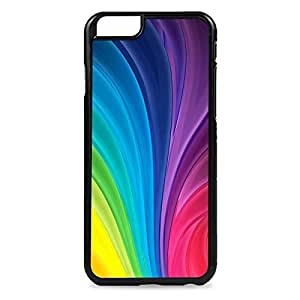 Case Fun Case Fun Rainbow Waves Snap-on Hard Back Case Cover for Apple iPhone 6 4.7 inch
