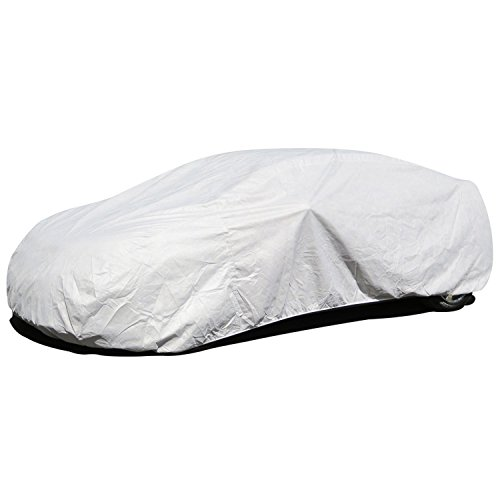 Budge Premier Tyvek Station Wagon Cover Fits Station Wagons up to 200 inches, SK-2 - (White, Tyvek) (2007 Subaru Legacy Gt Wagon)