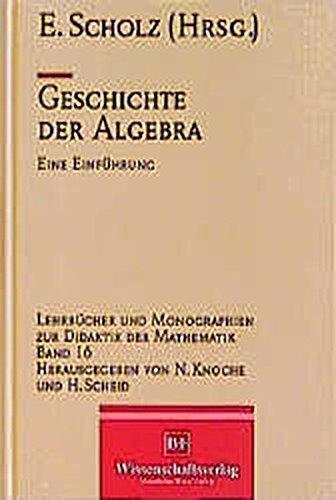 Geschichte der Algebra