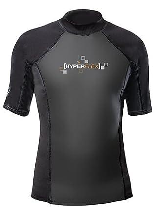 Hyperflex Wetsuits Mens Polyolefin 1.5mm 50//50 S//S Shirt