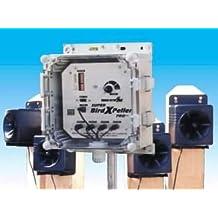 Bird-X - SBXP-PRO1-220 - Super BirdXPeller Pro 1 Electronic Sonic Bird Repeller - Gray & Black - 220v AC Voltage