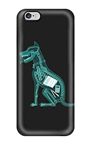Hot New X Ray Dog Case Cover For Iphone 6 Plus With Perfect Design