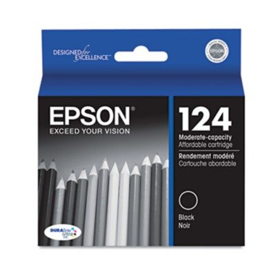 Epson EPST124120 - T124120 124 Moderate Capacity Ink