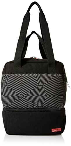 Budweiser by Buxton Men's Bowtie Tote with Cooler, Black