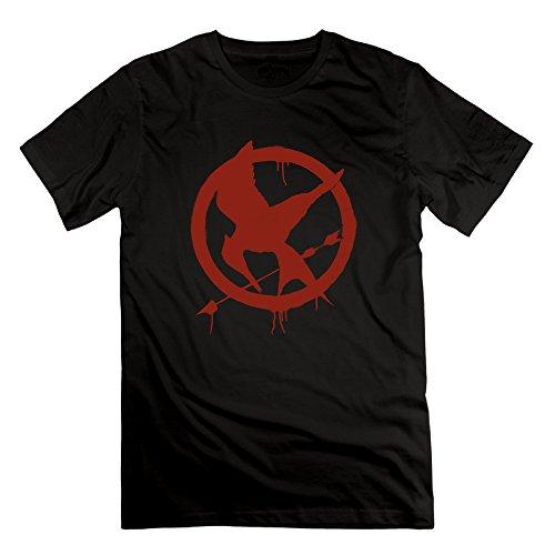 US-Men's The Hunger Games Mockingjay Part 2 Jennifer Lawrence Tshirts Shirt.