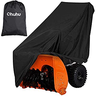 Ohuhu Snow Blower Covers, Double-Layer Heavy Duty Polyester Material & Silver-Coated Backing, Water Resistant & UV Protection, Universal Size Two-Stage Snow Thrower Covers with Carry Bag (B07YHRN6TX)   Amazon price tracker / tracking, Amazon price history charts, Amazon price watches, Amazon price drop alerts