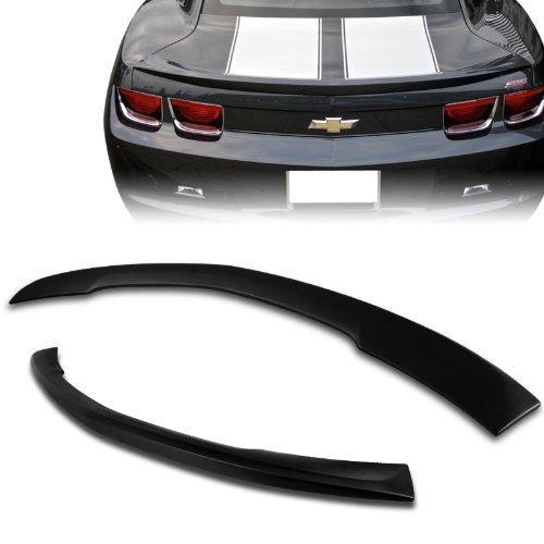 2010 - 2012 Chevy Camaro Primer Black ABS Plastic Rear Trunk Spoiler